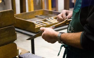 Cuchillos artesanales Laguiole: tradición y saber hacer